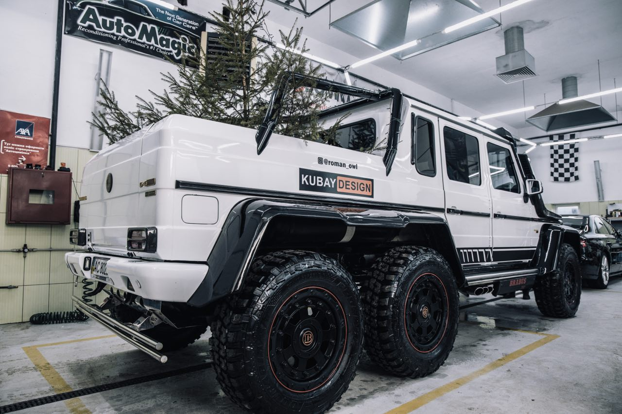 Our Company Kubay Design Provides Selling And Installation Of 6x6 Conversion Kit Conversion From Ordinary W463 To 6x6 Amg Style